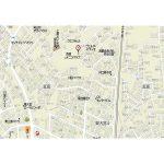 上尾市瓦葺 戸建(地図)