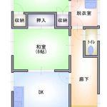 熊谷市平戸 賃貸アパート (間取)